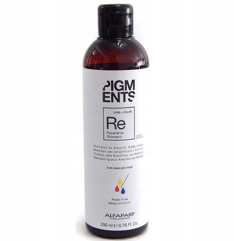 Alfaparf Pigments szampon do włosów zniszczonych 200ml