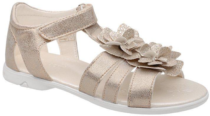 Sandałki dla dziewczynki KORNECKI 4967 Złote Brokat