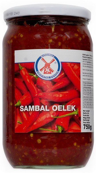Sos Sambal Oelek (chili 86%) 750g - Windmill