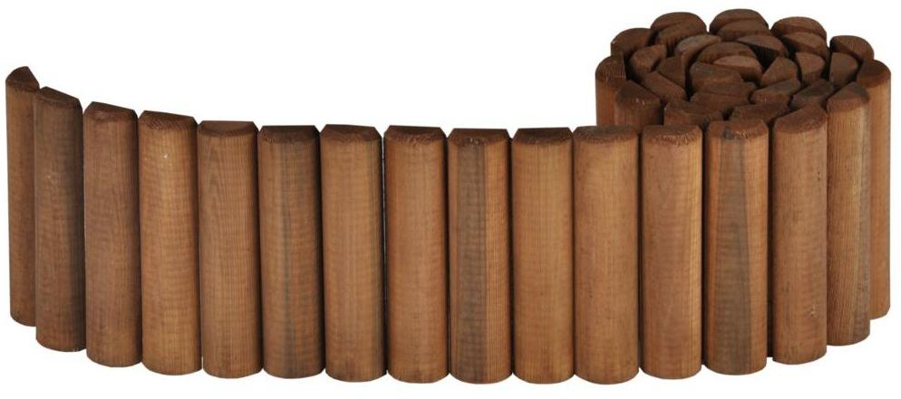 Rollborder 200 x 20 cm drewniany NIVE NATERIAL