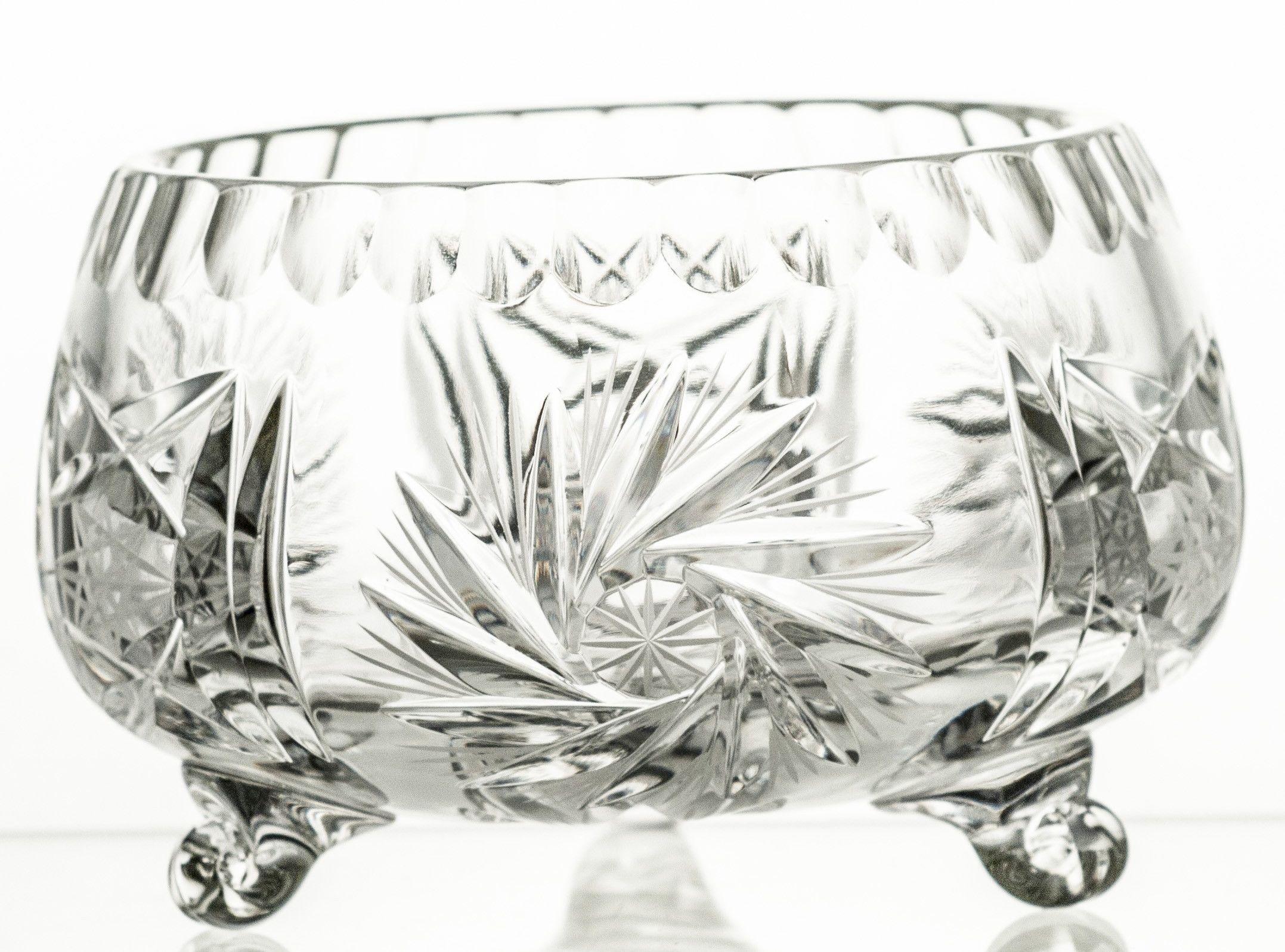 Owocarka kryształowa na nóżkach (13874)