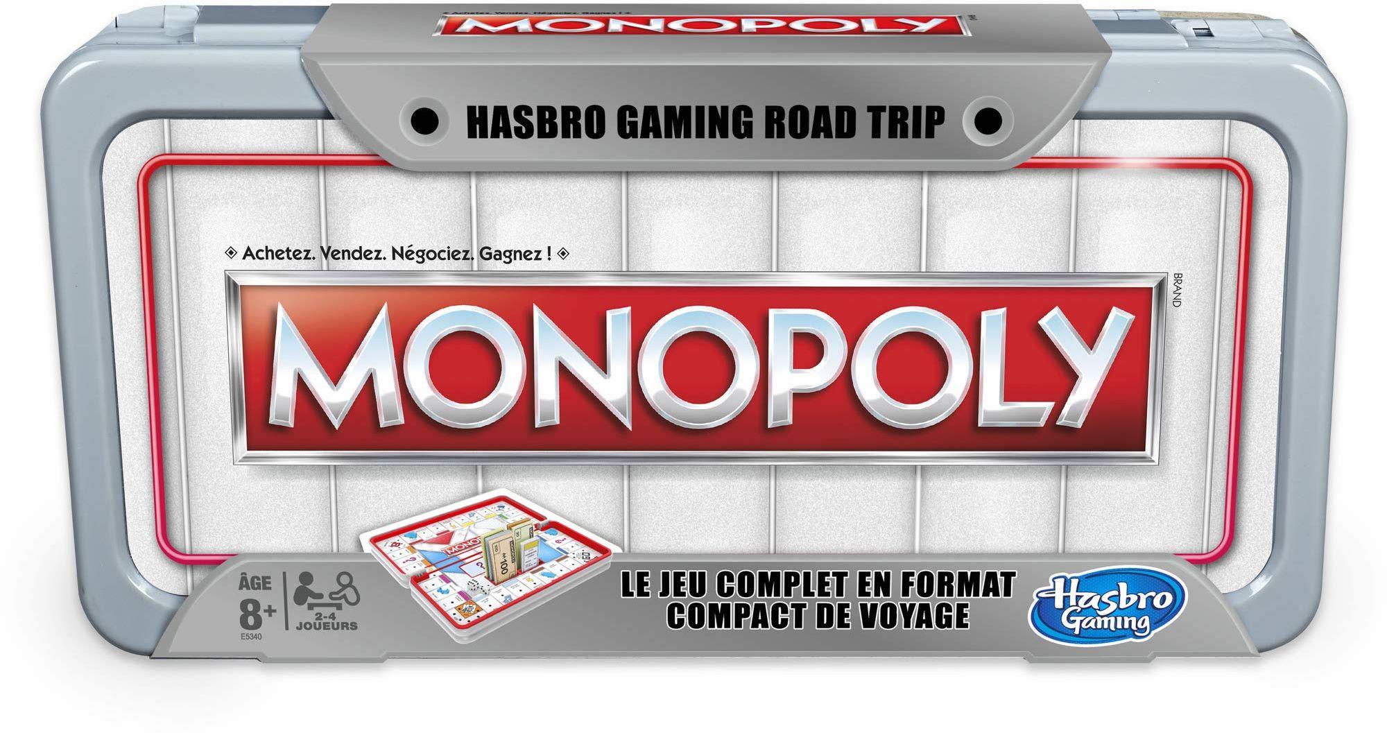 Monopoly Road Trip gra towarzyska, wersja francuska
