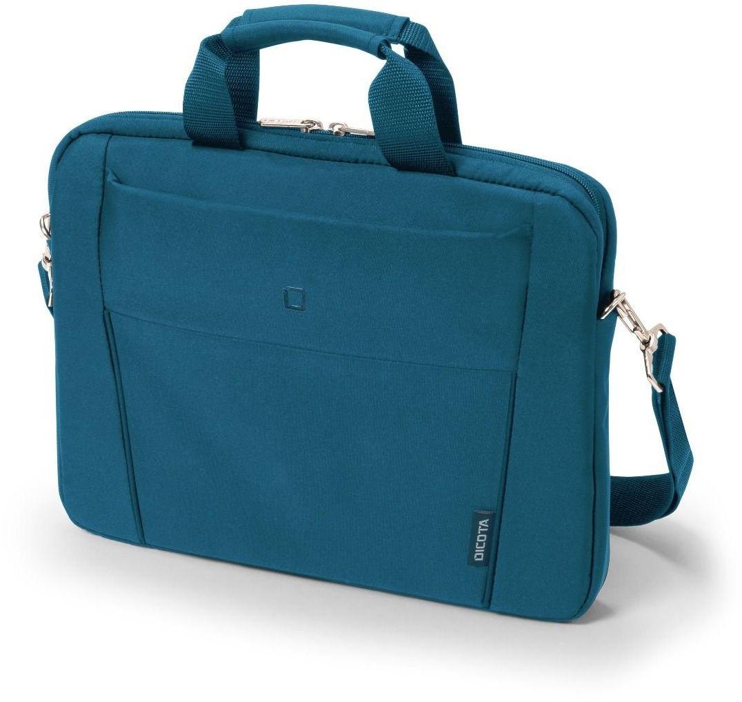 "DICOTA Slim Case BASE torba na ramię na laptopa i tablet, lekki pokrowiec na laptopa, Dictota Slim Case BASE torba na laptopa, niebieska, do laptopów 11-12.5"""