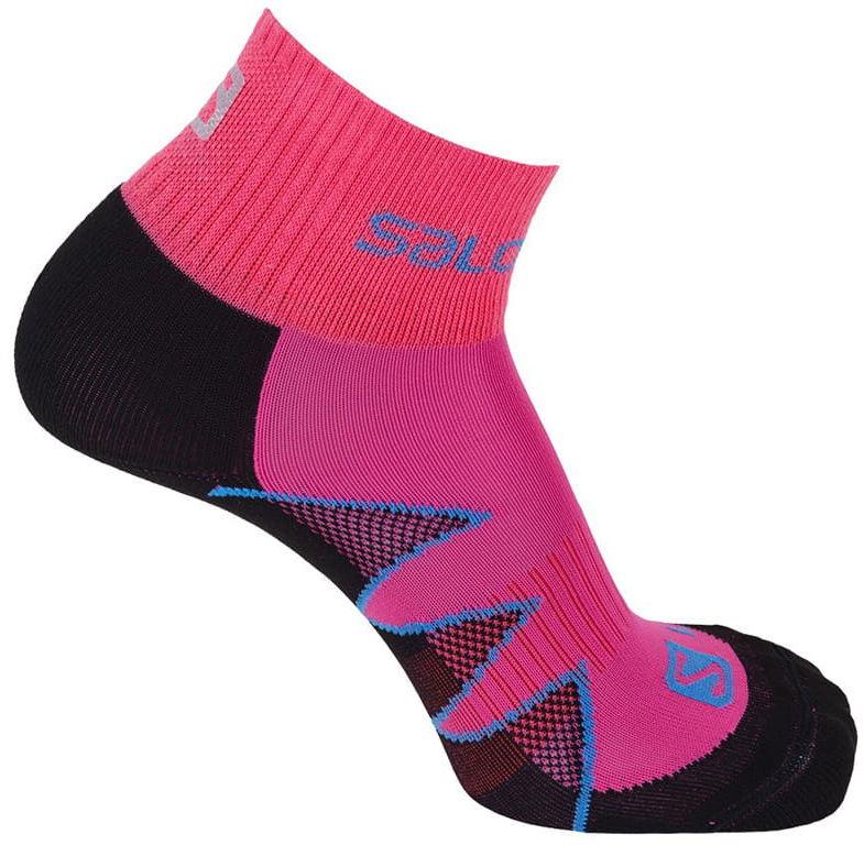 Skarpety Salomon Citytrail Black/Pink