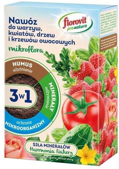 Nawóz do warzyw Florovit pro natura 1 kg