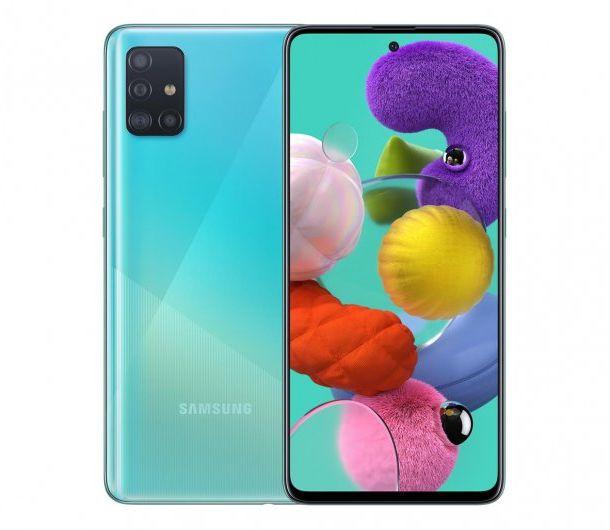 Samsung Galaxy A51 Niebieski/Blue SM-A515FZBVEUE
