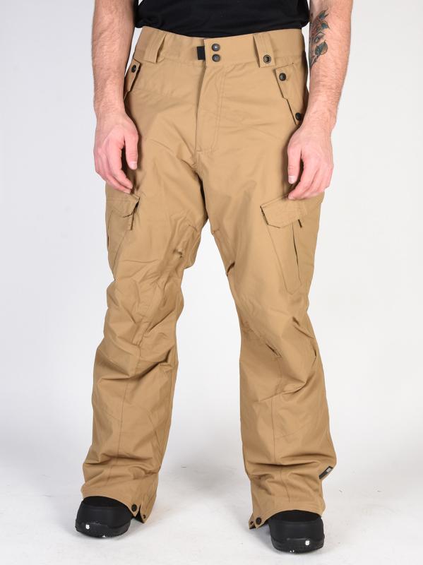 Ride Belltown ACT2 15/10 DARK KHAKI męskie spodnie narciarskie softshell - XL