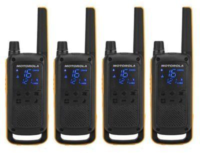 Radiotelefony MOTOROLA Talkabout T82 Extreme Quad Pack