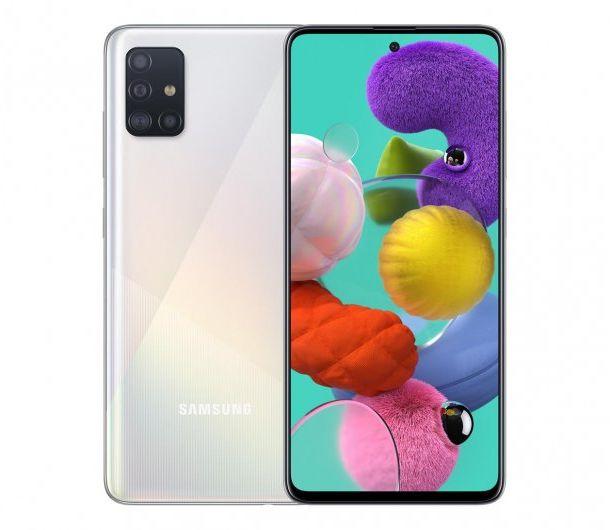 Samsung Galaxy A51 Biały/White SM-A515FZWVEUE