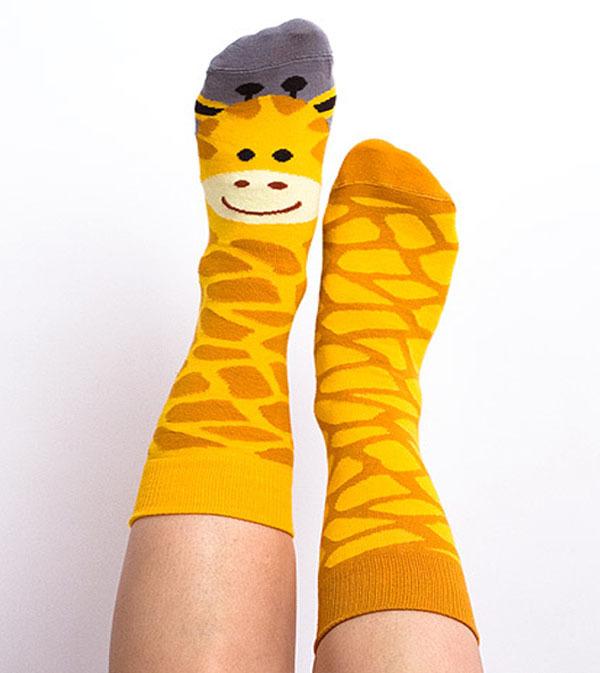 Skarpety kolorowe żyrafa - Gigi Giraffe