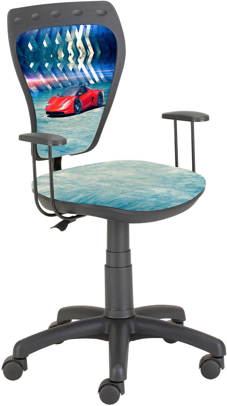 Krzesło Ministyle Black Czerwny samochód