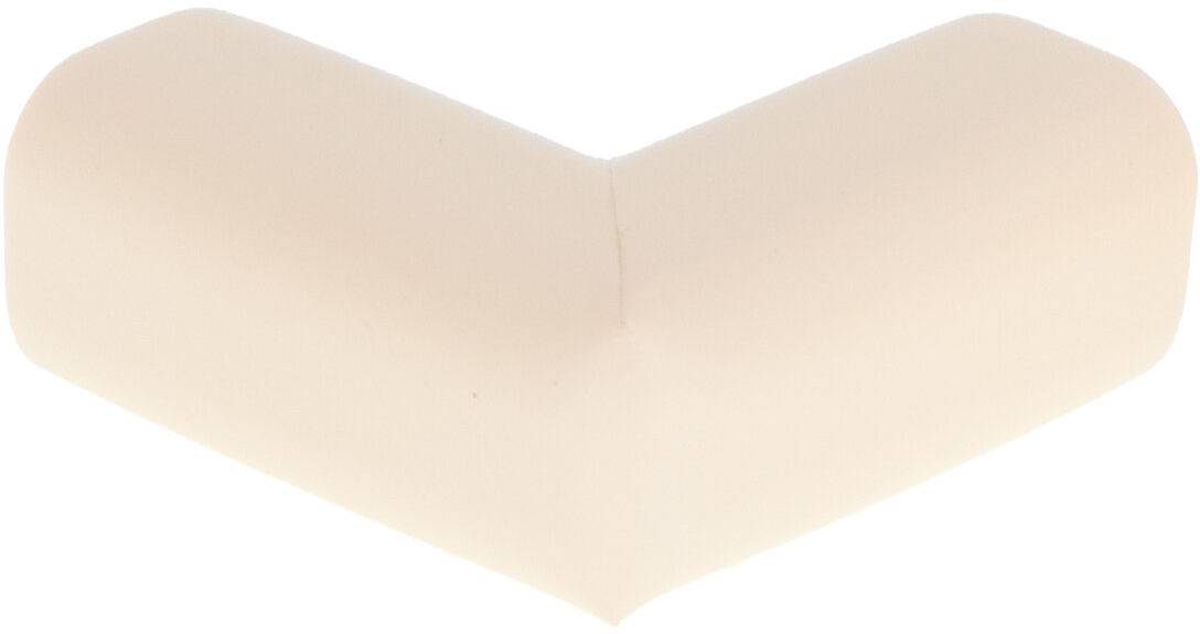 Piankowe zabezpieczenia narożników jasny beż 5x2,3x0,8 cm 10 sztuk