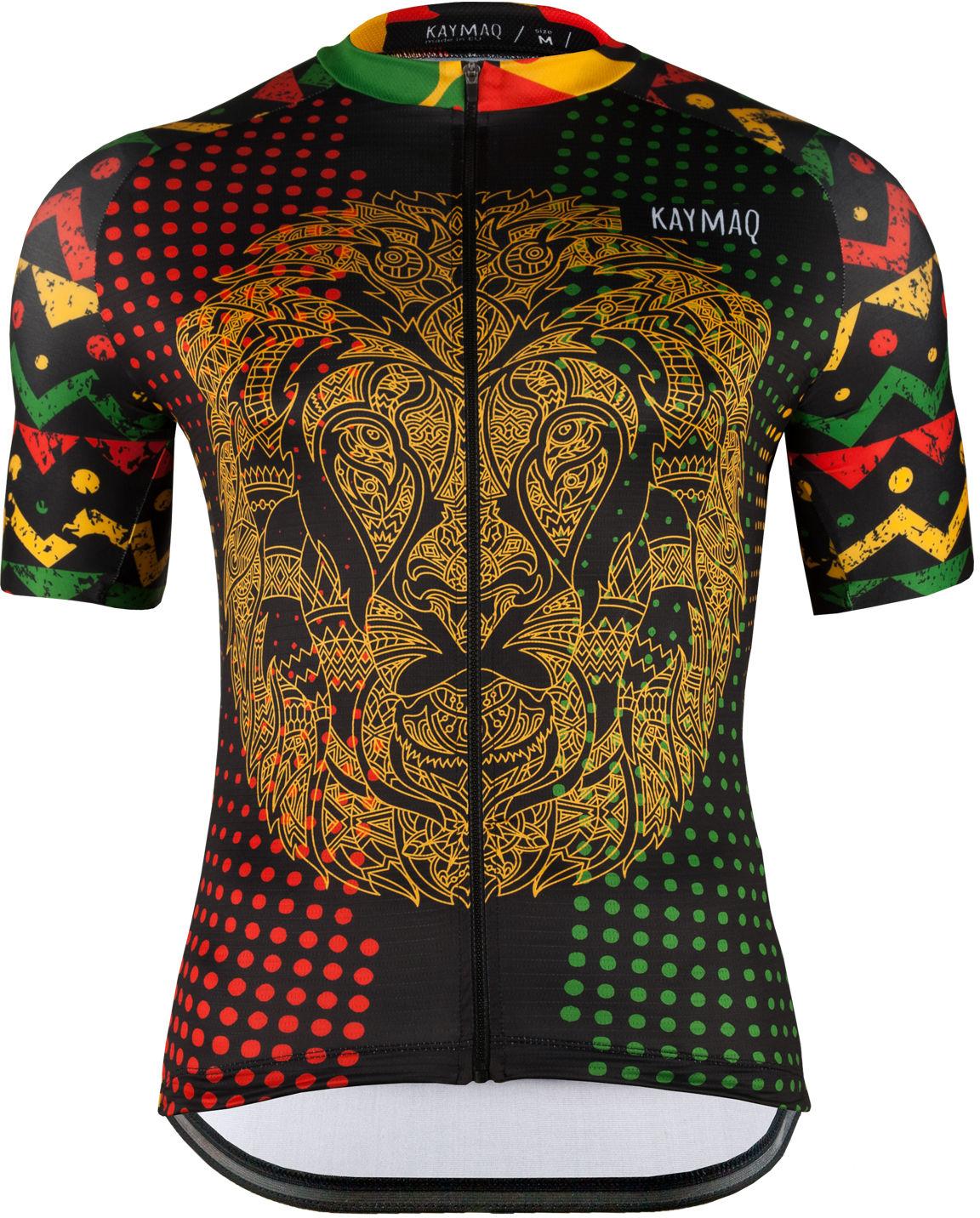 KAYMAQ RACE M51 męska koszulka rowerowa z krótkim rękawem Rozmiar: XL,m51_kymq_kosz