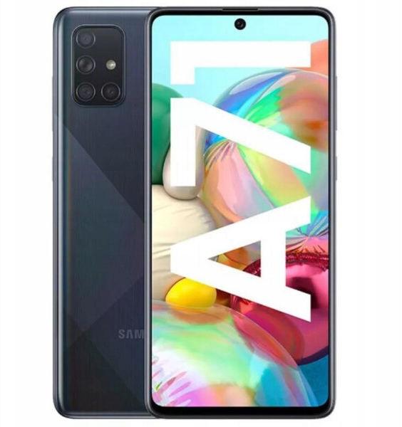 Samsung Galaxy A71 Czarny/Black SM-A715FZBUXEO