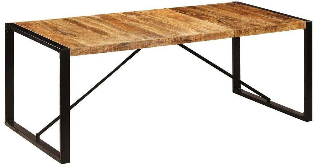 Industrialny stół drewniany 100x200  Veriz 5X