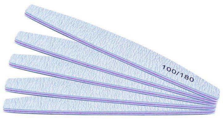 5 x PILNIK DO PAZNOKCI ŁÓDKA ZEBRA 100/180 (CZ)