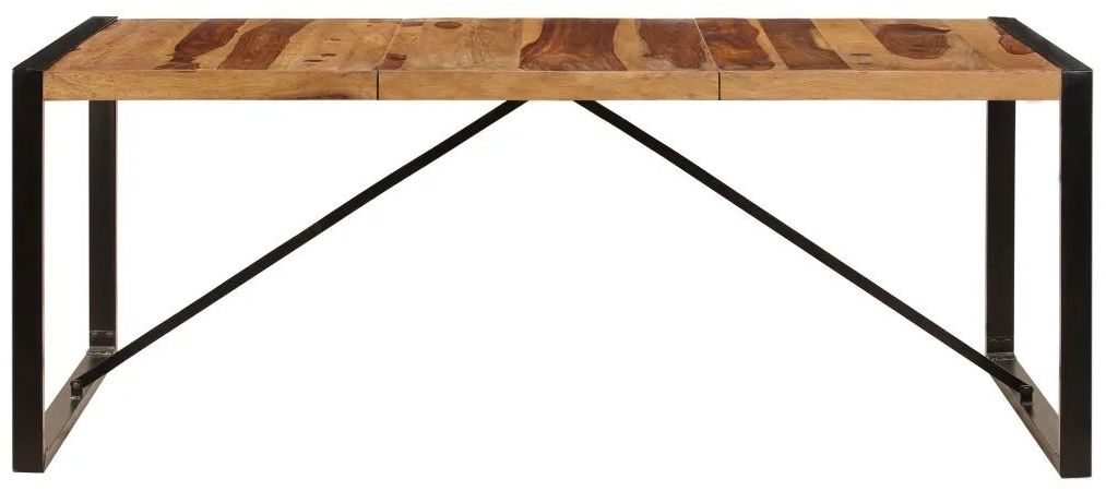 Industrialny stół z sheesham 100x200 - Veriz 6X