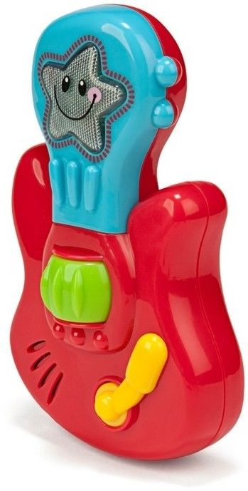 Zabawka edukacyjna z muzyką i światełkami - Gitara bobasa