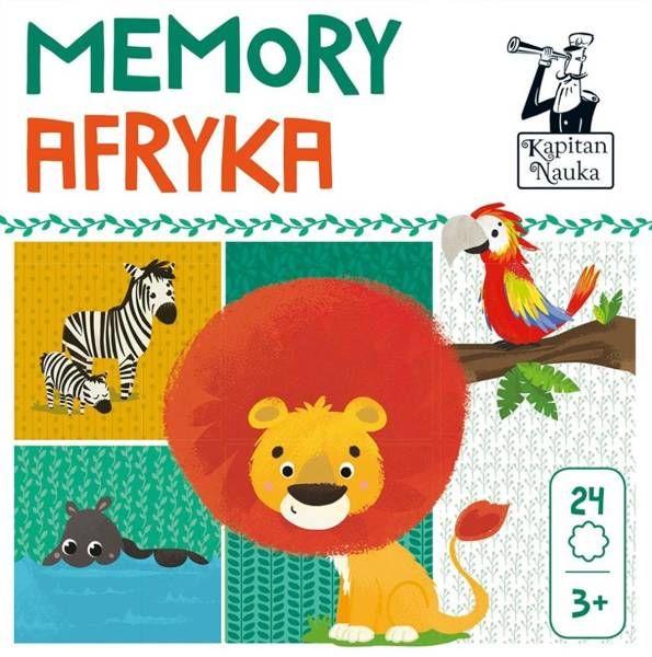 Kapitan Nauka. Memory. Afryka - praca zbiorowa