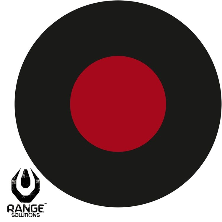 Tarcze strzeleckie Range Solutions RS 3GUN - 50 szt. (RAN-31-021461) G