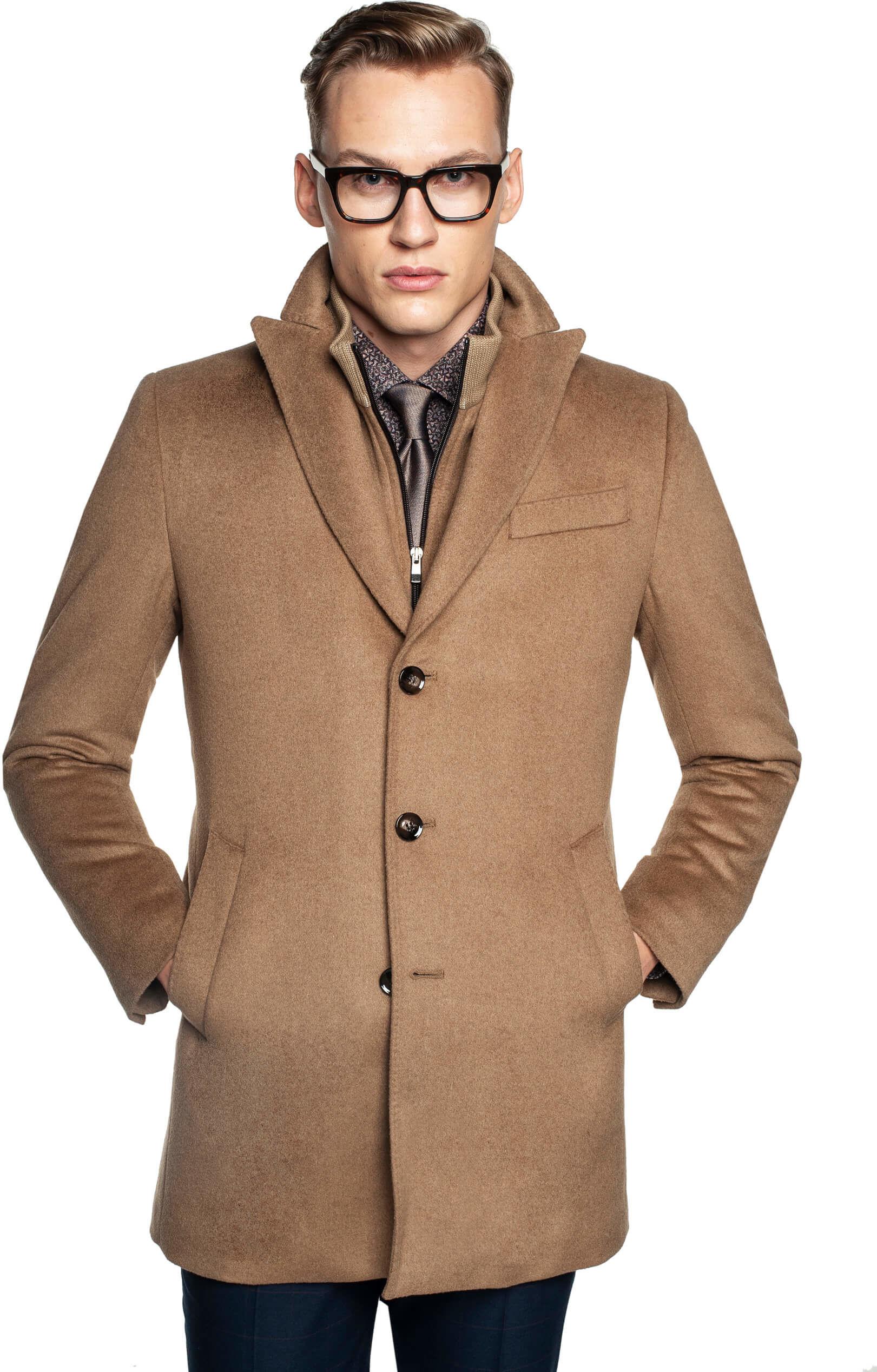 płaszcz worsley kamel