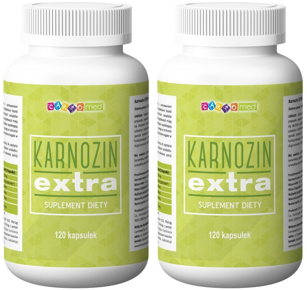 KARNOZIN extra - karnozyna (120 kaps)