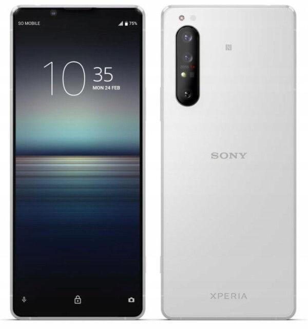 Sony Xperia 1 II Biały/White XQ-AT56