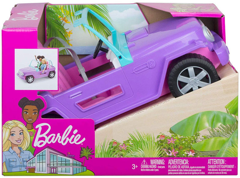 Barbie Plażowy Jeep GMT46