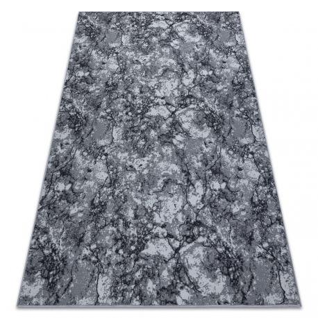 DYWAN - antypoślizgowa wykładzina dywanowa MARBLE marmur, kamień szary 100x100 cm