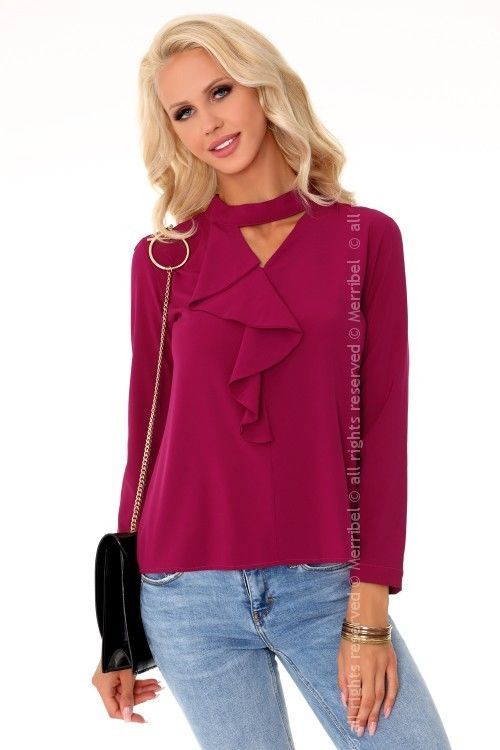 Nildana Purple 85280 bluzka