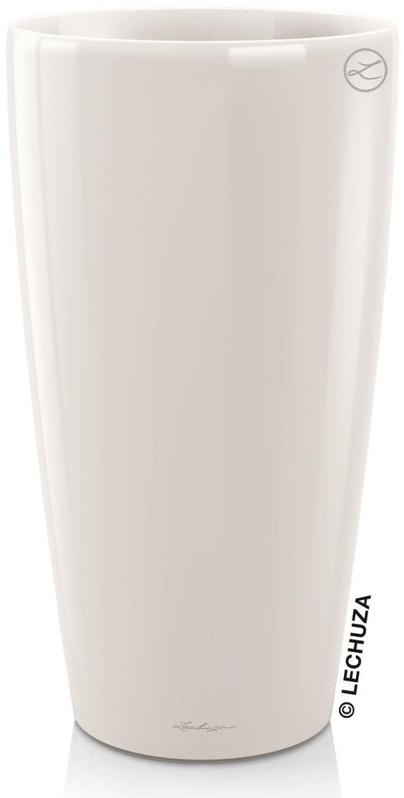 Donica Lechuza RONDO 40/75 biały połysk