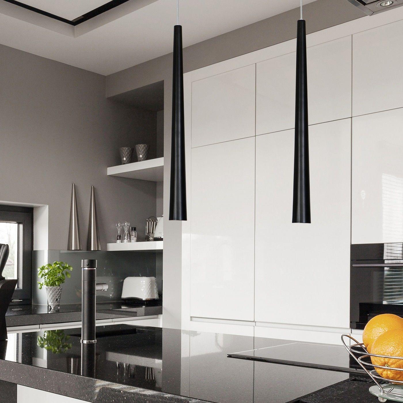 Quebeck Black I 5405 - Nowodvorski - lampa wisząca nowoczesna