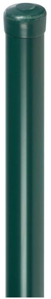 Słupek ogrodzeniowy do siatki 4,8 x 240 cm zielony ARCELOR MITTAL