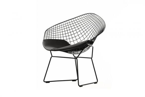 Customform - poducha do Diament Chair, biały, czarny