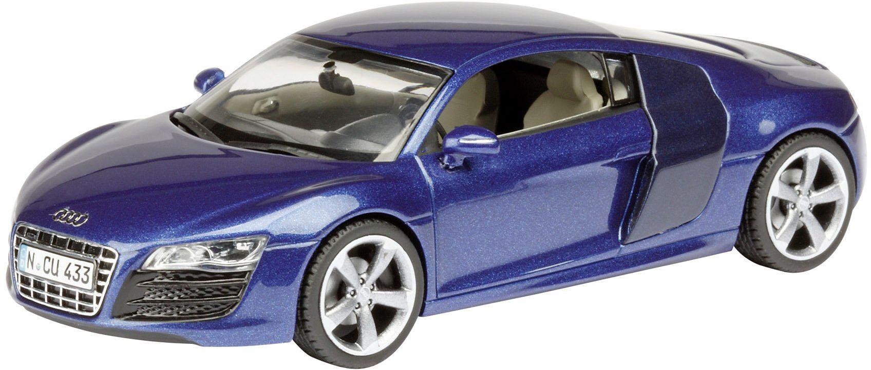 Dickie -Schuco 450491700 - Schuco - Audi R8 V10, niebieski 1:43 sepang blue