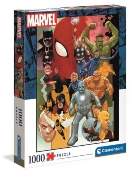 Puzzle 1000 HQ Marvel 39612 - Clementoni