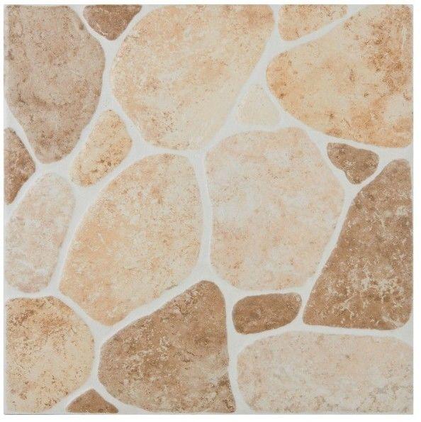 Gres szkliwiony Searocca 29,8 x 29,8 cm brown 1,33 m2
