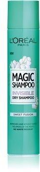 LOréal Paris Magic Shampoo Sweet Fusion suchy szampon zwiększający objętość włosów, który nie pozostawia białych śladów 200 ml