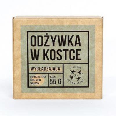 Naturalna odżywka do włosów w kostce 55g Cztery Szpaki