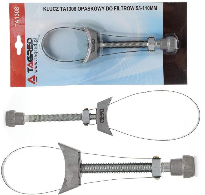 Opaskowy klucz tasiemkowy do filtra oleju 55-110mm