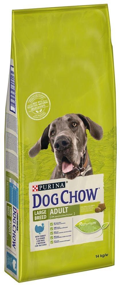 PURINA Dog Chow Adult Large Breed Turkey 14kg
