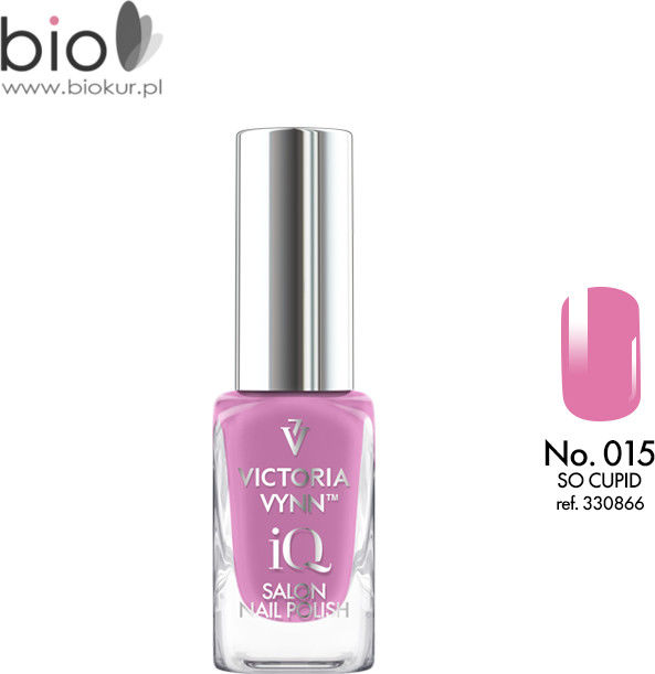 Lakier klasyczny Nail Polish iQ 015 SO CUPID Victoria Vynn - 9 ml