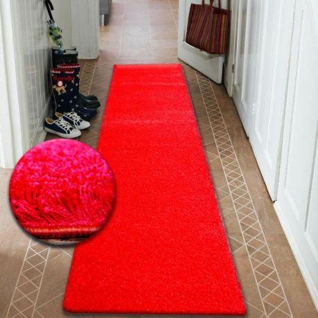 CHODNIK SHAGGY 5cm czerwień