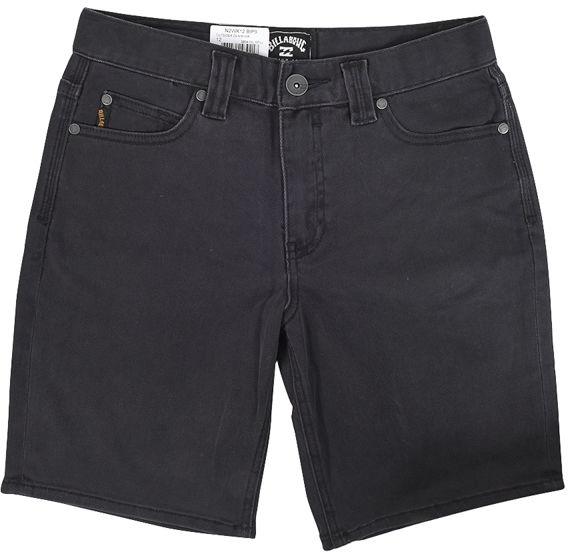 Billabong OUTSIDER DENIM OIL SPILL dziecięce spodenki jeansowe - 12