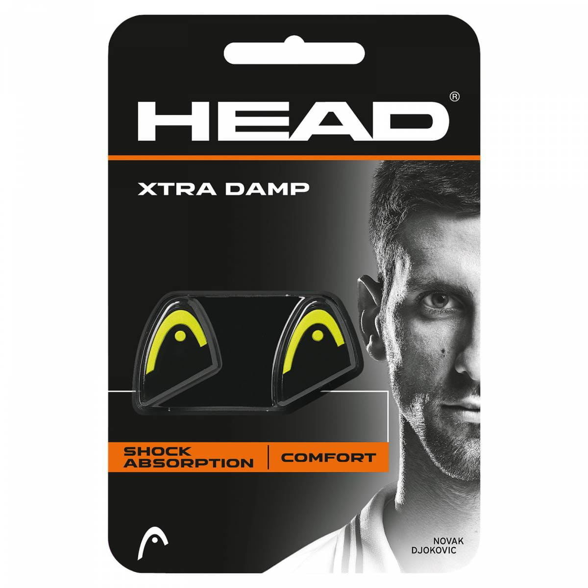 Head Xtra Damp - black/yellow 285511-YW