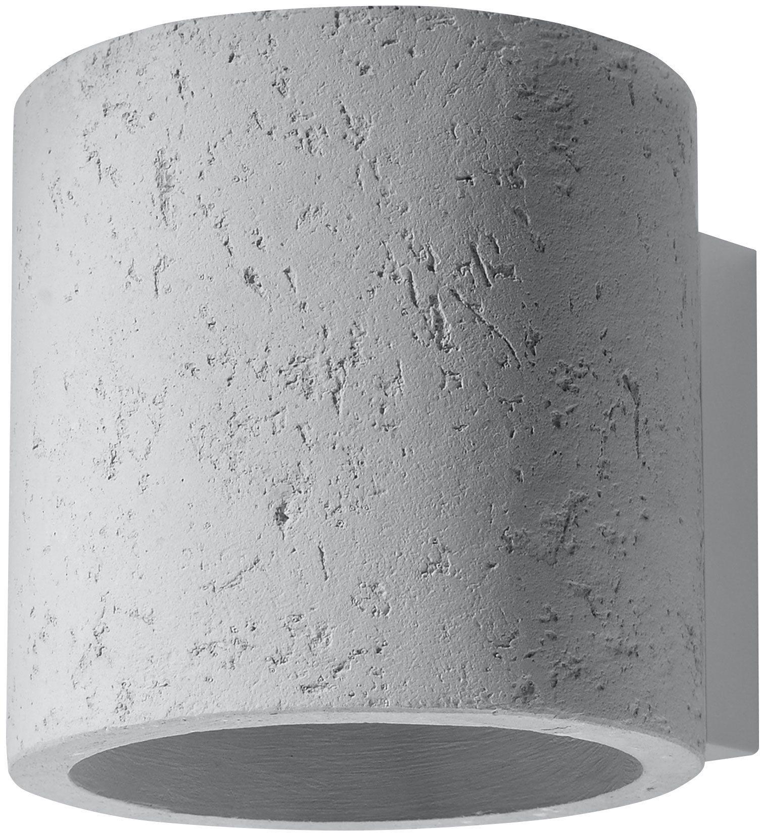 Loftowy kinkiet z betonu E714-Orbil