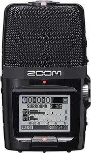 Rejestrator dźwięku Zoom H2n + gratis Zestaw akcesoriów Zoom APH-2n - Promocja Black Friday