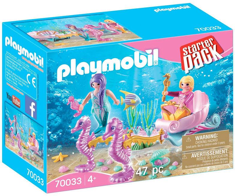 Playmobil - StarterPack Karoca z konikami wodnymi 70033