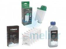 Filter Logic CFL-902B Intenza+ Filtr do ekspresów Philips Saeco + Saeco CA6705 Środek do czyszczenia systemu mleka Philips + Saeco CA6700 Odkamieniacz 250ml