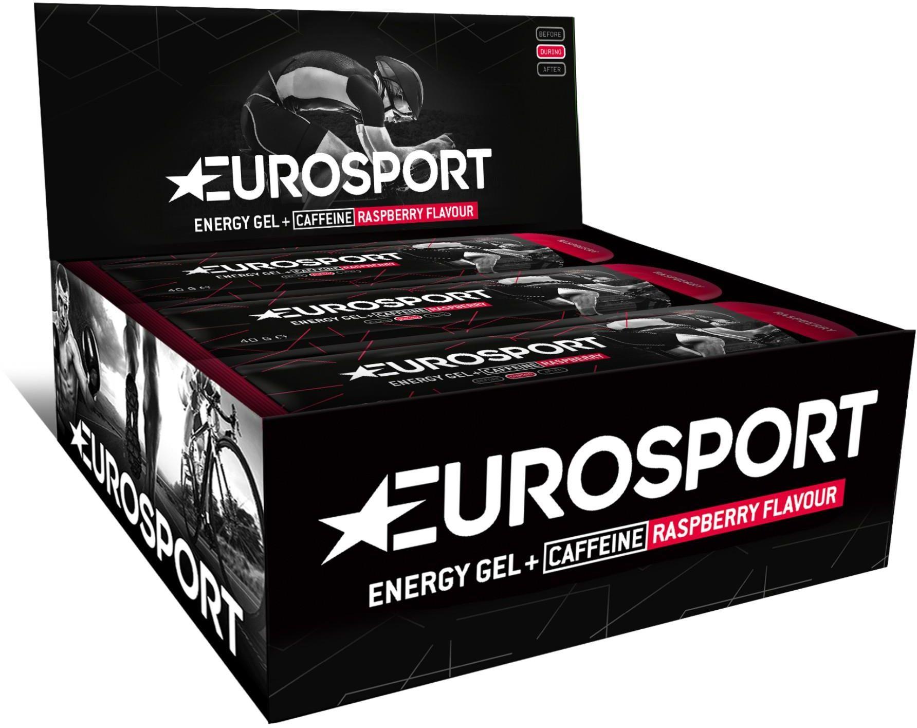 EUROSPORT żel energetyczny NUTRITION malina + kofeina 40g E0034,8718754408646